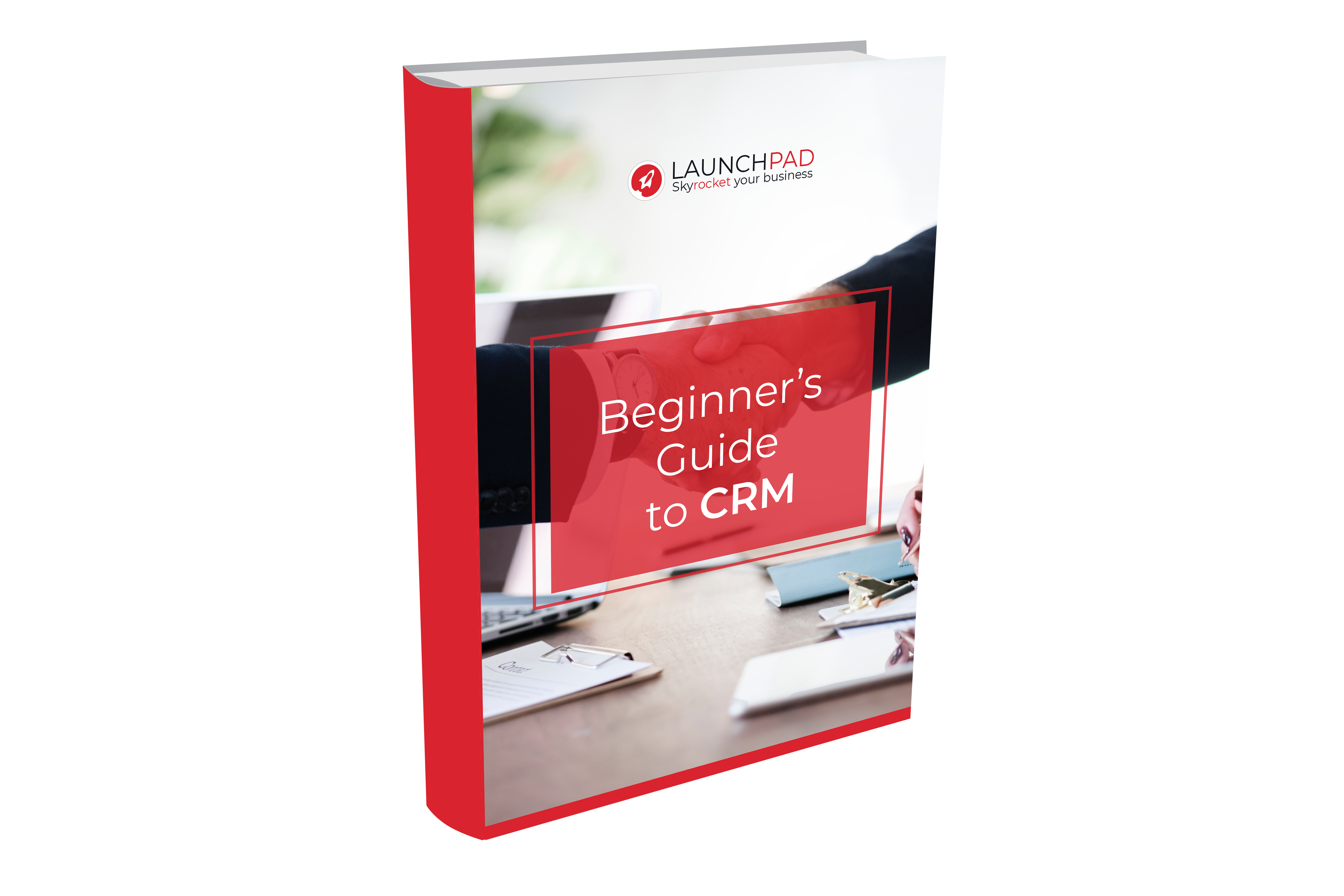 Book cover - Beginner's-Guide-to-CRM